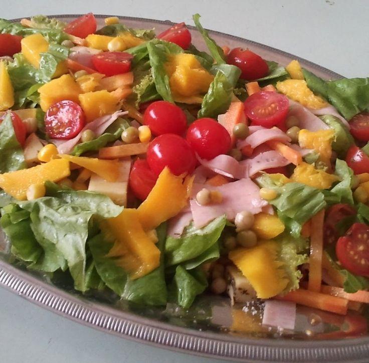 A melhor Receita de Salada Tropical Simples do site Multi Receitas