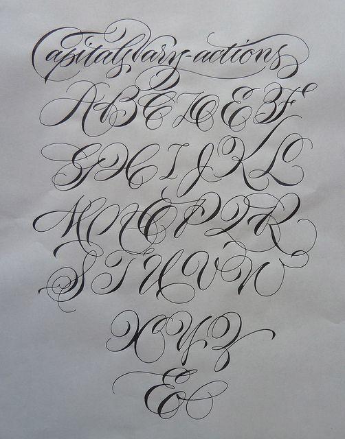 pointed pen vary-actions by Barbara Calzolari, via Flickr