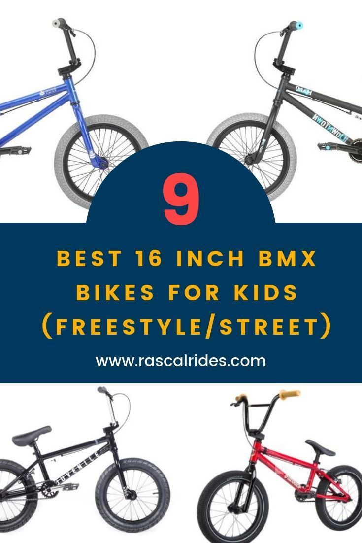 9 Best 16 Inch Bmx Bikes For Kids Freestyle Street Bmx Bikes