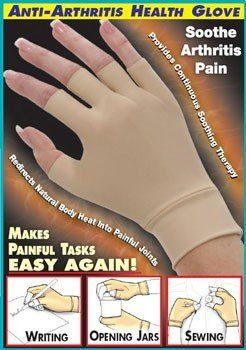 Mine is by IMAK and it covers more of the fingers. The idea is to have gentle compression. Mine is a pretty gray color.