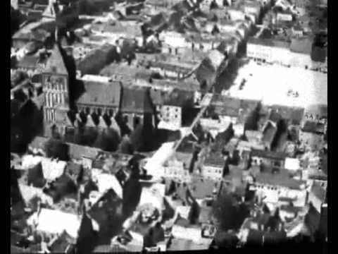 Luftschiff Graf Zeppelin über Köslin - YouTube