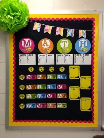 The Teaching Sweet Shoppe!: Back in my classroom & getting Math Workshop set up!