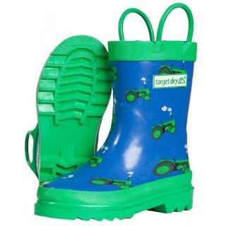 Boys Tractor Wellies | Kids Target Dry Wellington Boots