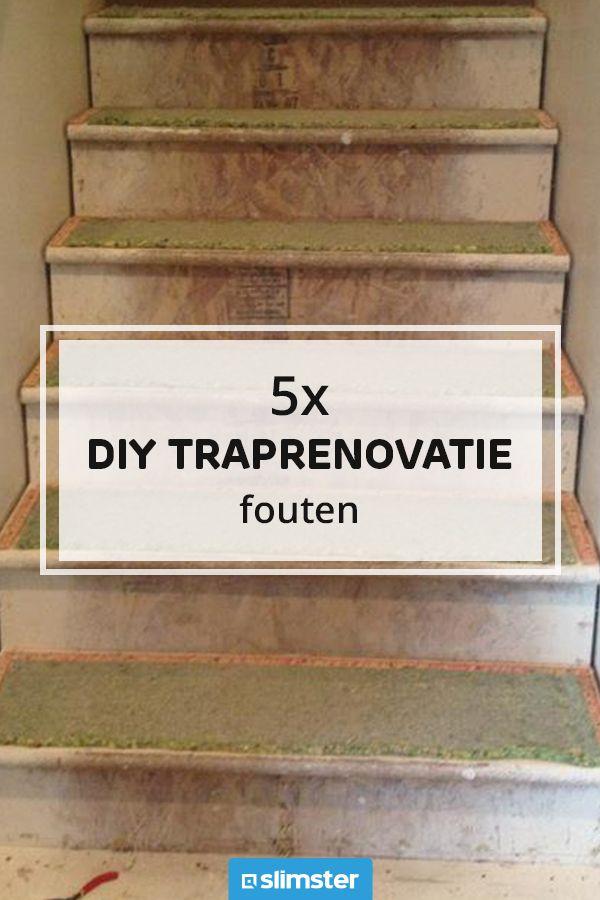 Hedendaags Zelf je trap renoveren? Een doe-het-zelf traprenovatie kan KM-06