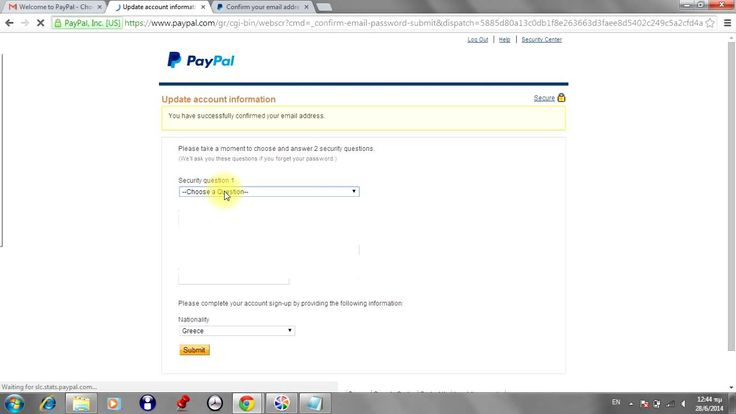 How to confirm email at PayPal account 2014 easy and fast!!!!