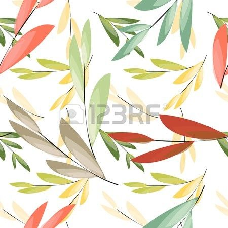 Abstract floral seamless pattern background Stock Vector - 45872543