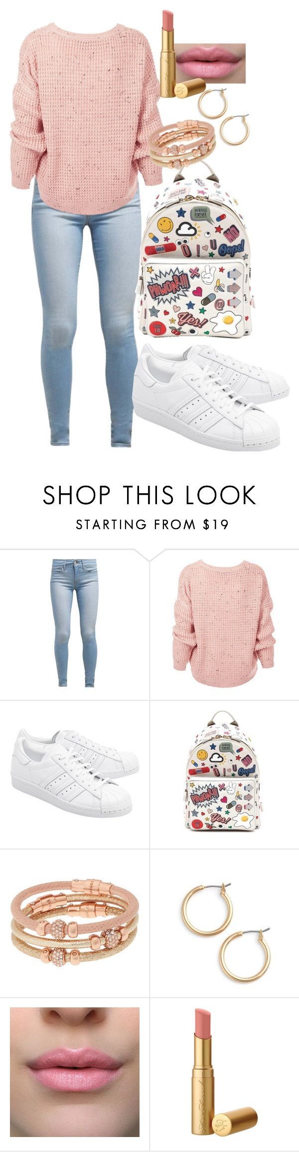 """Untitled #462"" by dreamer3108 on Polyvore featuring Levi's, Topshop, adidas Originals, Anya Hindmarch, Henri Bendel and Nordstrom"