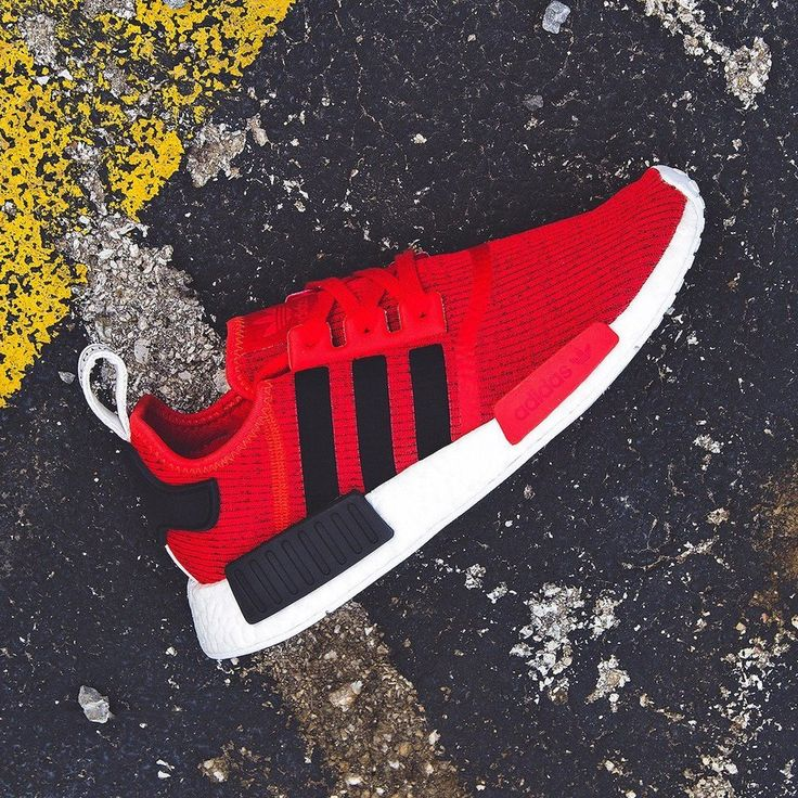 Adidas NMD_R1 #comfortable, #red, #sneakers