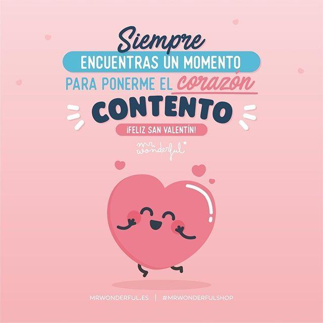 Feliz San Valentín Que Viva El Amor Mrwonderfulshop
