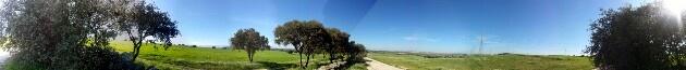 Viñuelas, San Sebastian de los Reyes, paseo por la tarde