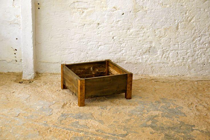 Macetas para plantas de madera reciclada la noble madera - Macetas de madera ...