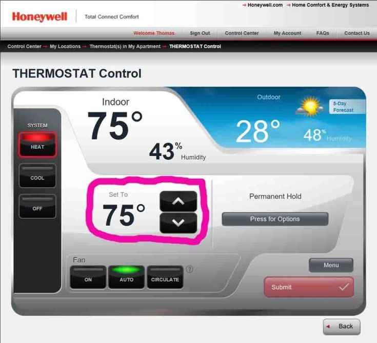 How to Change Honeywell Thermostat Temperature Setting