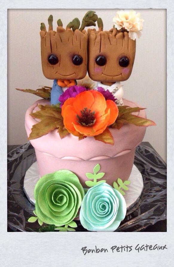 Groot Head Cake Topper