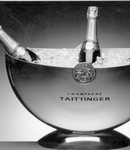 Taittinger, but of course.  Champagne Bucket yes please wine / vinho / vino mxm