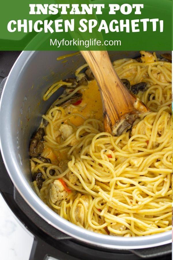 Instant Pot Chicken Spaghetti Recipe Instant Pot Dinner
