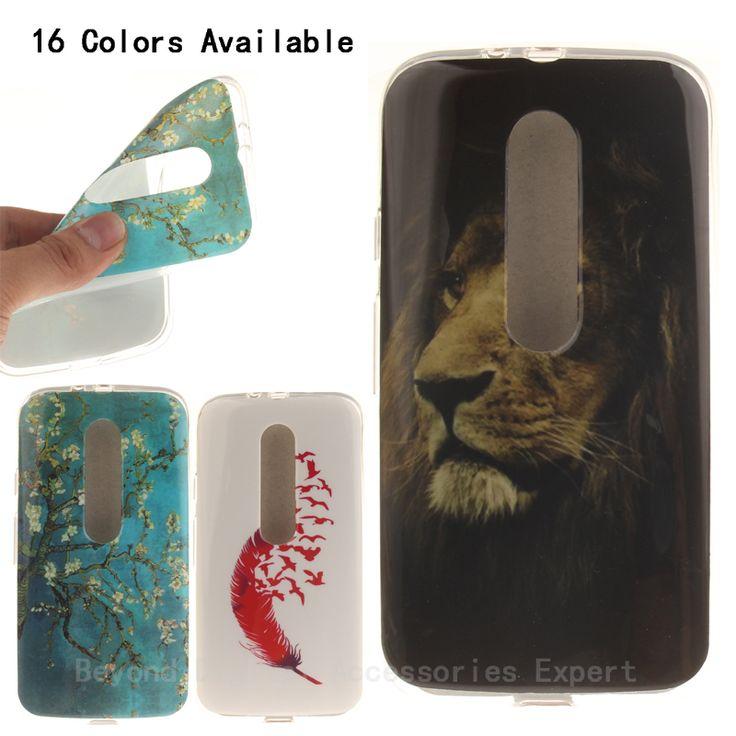 Модный дизайн для Motorola Moto G3 рд поколения G3 e-дуа следующие мобильных телефонных аппаратов из мягкого силикона TPU IMD защитный рукав