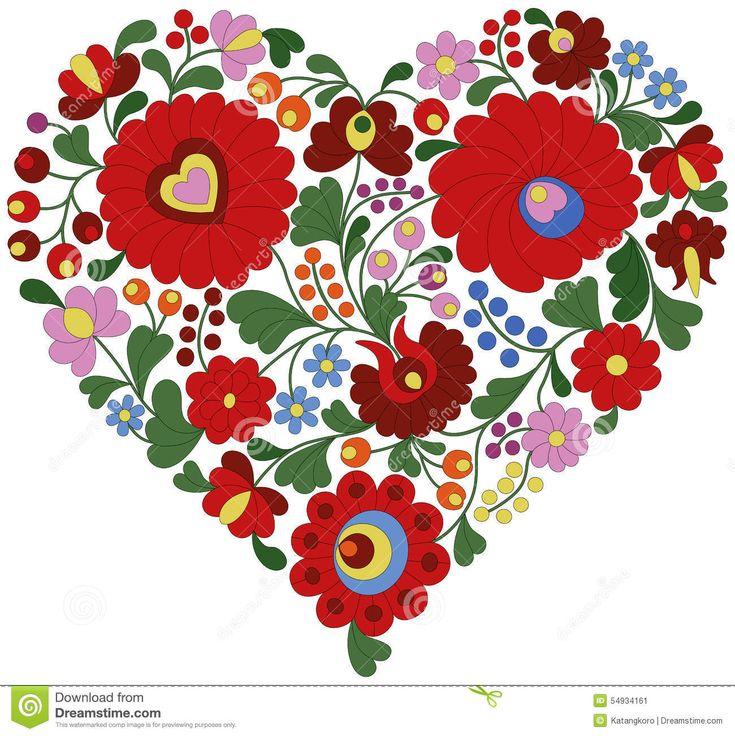 Corazón Hecho De Modelo Húngaro Tradicional Del Bordado - Descarga De Over 36 Millones de fotos de alta calidad e imágenes Vectores% ee%. Inscríbete GRATIS hoy. Imagen: 54934161