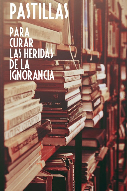 Libros.definitivamente ya no deberían haber gente ignorante solo ociosa que no buscan las respuestas.
