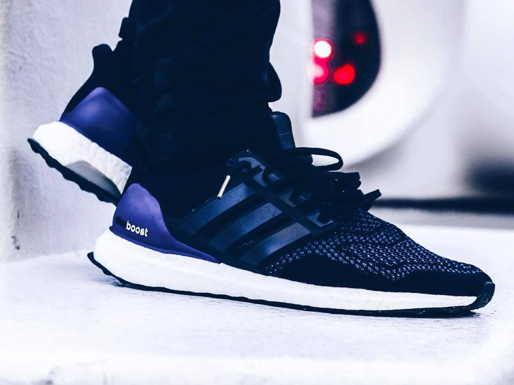 Adidas Ultra Boost - Core Black/Purple - 2015 (by sszymek)