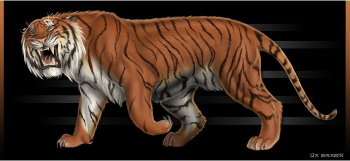 Caspian Tiger--EXTINCT--The tiger was once found throughout most of southern, eastern and central Asia along with small pockets in the Middle East. Today at least three of the subspecies of tiger -Caspian (P.t.virgata) in the Middle East and west central Asia - Balinese (P.t.virgata) and Javan (P.t.sondaica) from the islands of Bali and Java are now extinct.