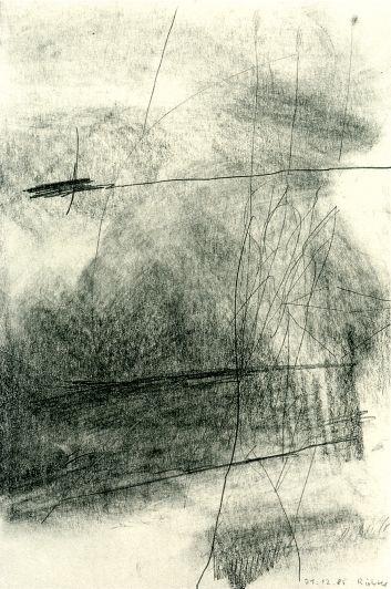 Gerhard Richter, 21.12.1985, 1985, 23.8 cm x 16 cm, Graphite on paper.