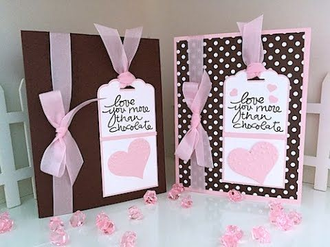 Simply Simple Now or WOW Flash Card - Love You More than Chocolate Card ...