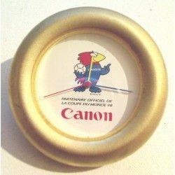 Pendulette Canon : Footix coupe du monde 98