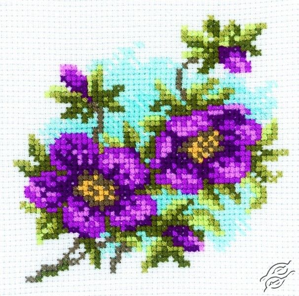 Hellebore - Cross Stitch Kits by RTO - H176