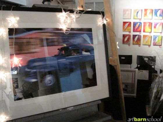 One of the many featured works highlighted during Raising Artbarn 2011