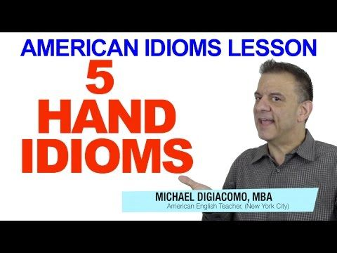 YouTube English Lesson: 5 HAND idioms What is the best answer choice: Tom said he would ______ me a hand painting the house. A. hold -- B. give -- C. take -- D. do Get the answer and a FREE English lesson when you click the link
