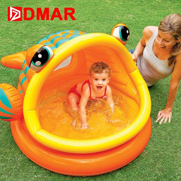 [Visit to Buy] DMAR Inflatable Pool for Kids Big-mouth Fish Infants Baby Swimming Pool Bathing Pool Children Water Toys Durable High Quality #Advertisement