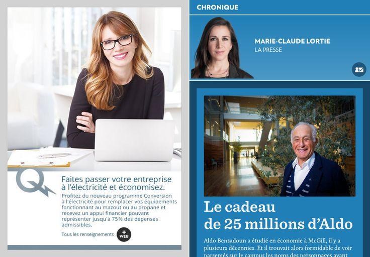 Le cadeau de 25 millions d'Aldo - La Presse+