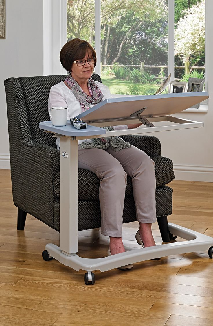 Allowing you to complete a range of activities the Easylift Split Top Table is an easy to use table that can be easily placed over a riser recliner or high seat chair.