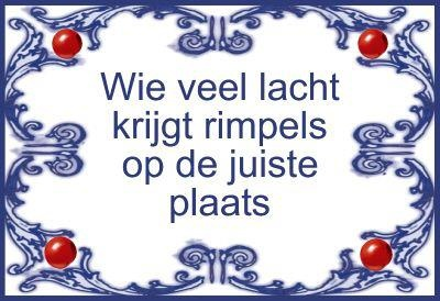 Wie veel lacht krijgt rimpels op de juiste plaats / Those who smile a lot you will get wrinkles in the right place - CliniClowns quote