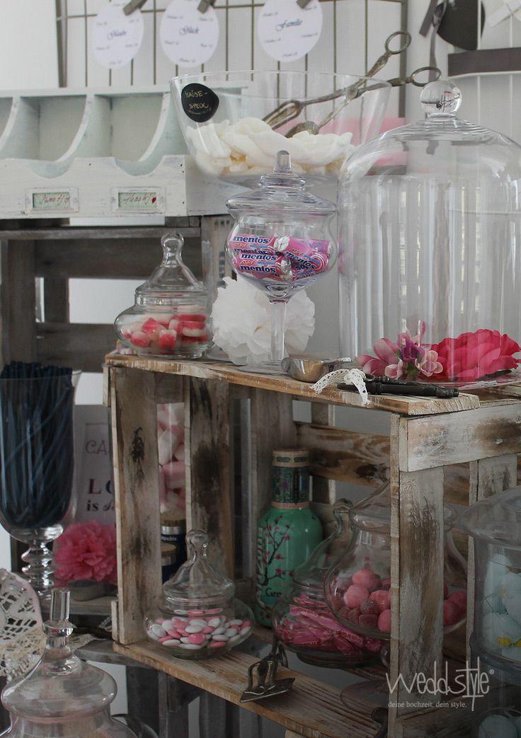 1000+ Bilder zu ♡ CANDY BAR HOCHZEIT auf Pinterest  Rosa ...