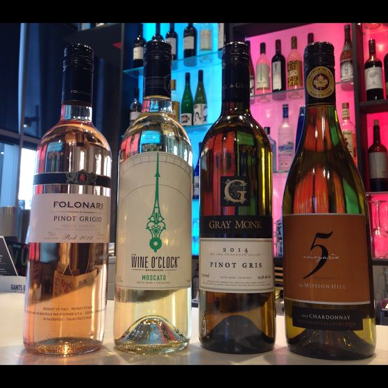 A few of our favourite white wines right now, & there are plenty more where these came from! #wine #burgushi #yyc