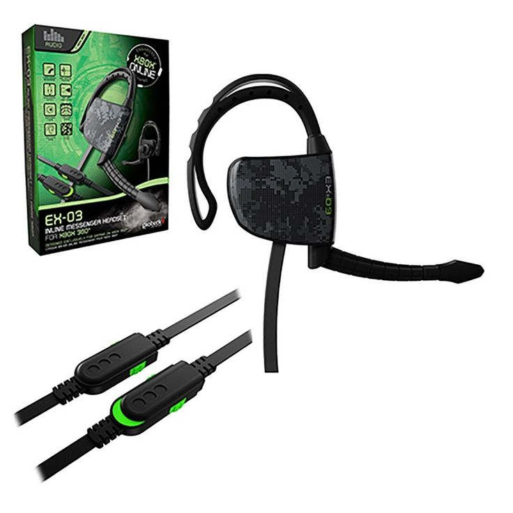 Xbox 360 Wired Headset  https://www.retrogamingstores.com/gaming-accessories/xbox-360-headset-wired-ex-03-headset-gioteck  Get wired and be on the game with other players with this awesome ergonomically designed headset.