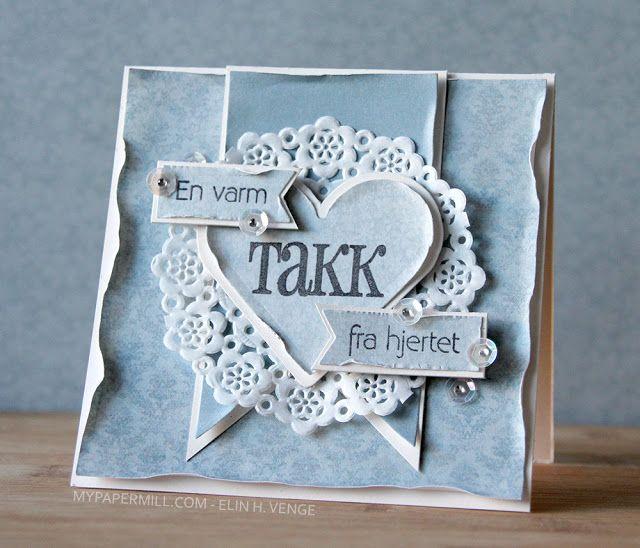 Ett Trykk - Norsk Stempelblad AS: En varm takk fra hjertet