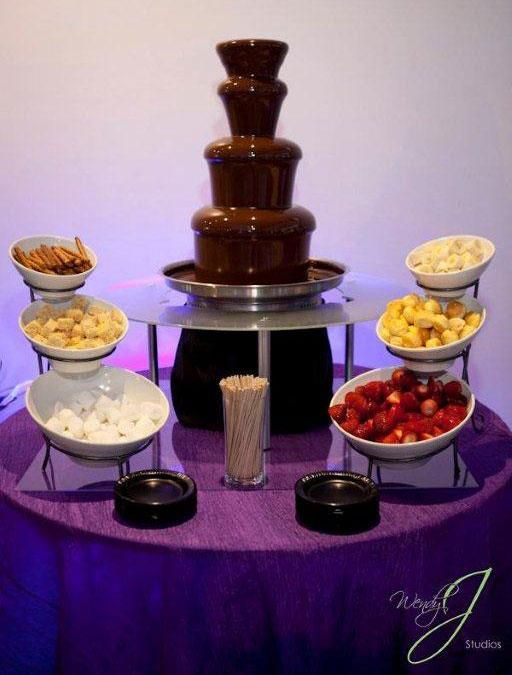All Chocolate Fountains are Not Created Equal. www.chocolatefountainsofsouthflorida.com #chocolate #events #yummy