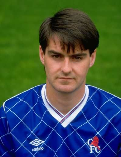 Steve Clarke. This was a great Chelsea shirt.