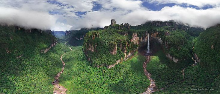 Photogallery | Angel Waterfall | 360° Aerial Panoramas, 3D Virtual Tours Around the World, Photos of the Most Interesting Places on the Earth
