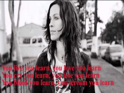 Alanis Morissette   You Learn + Lyrics
