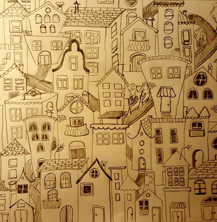 Drawing houses...