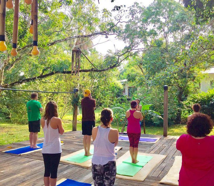 Morning yoga at Ka'ana resort in Belize | Ka'ana Resort #Kaana #xobelize  Photo by @alvcoaching on Instagram
