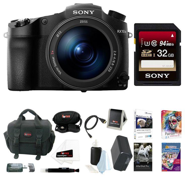 Sony DSC-RX10 III Cyber-shot Digital Still Camera  32GB Accessory Kit