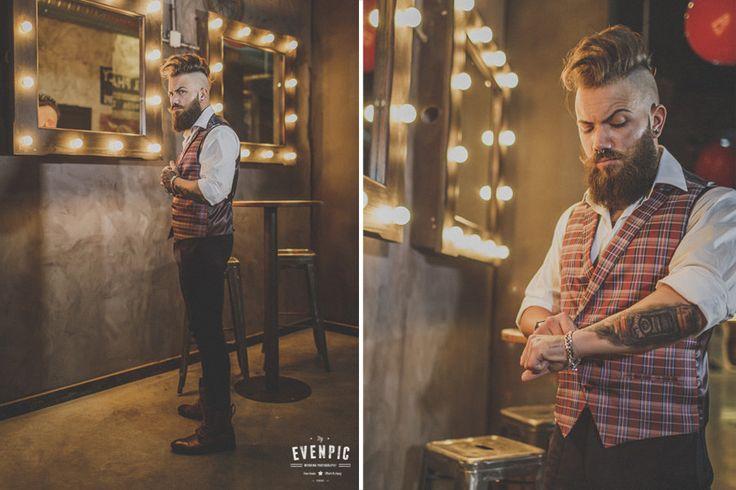 rock, tattoos and groom
