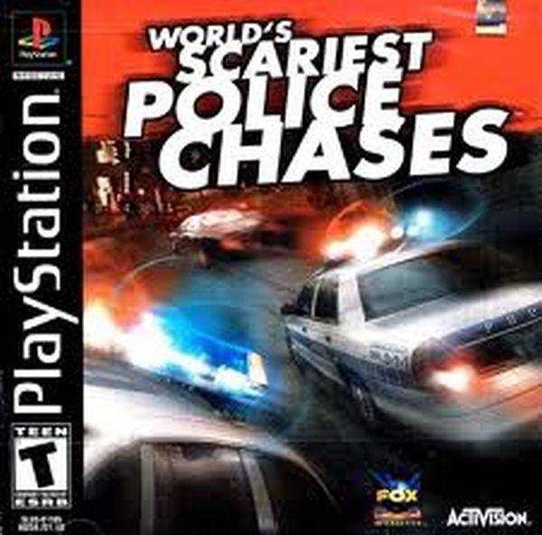 World's Scariest Police Chases (Sony PlayStation 1, 2001) Complete