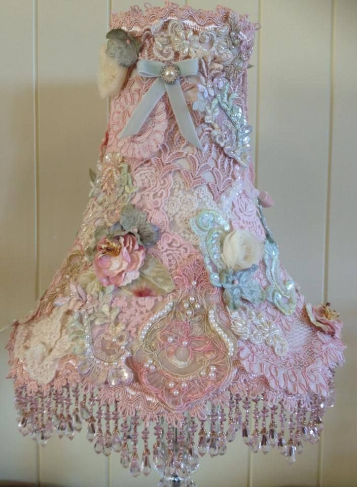 645 best lamp shades shabby chic images on pinterest chandeliers shabby shade aloadofball Choice Image