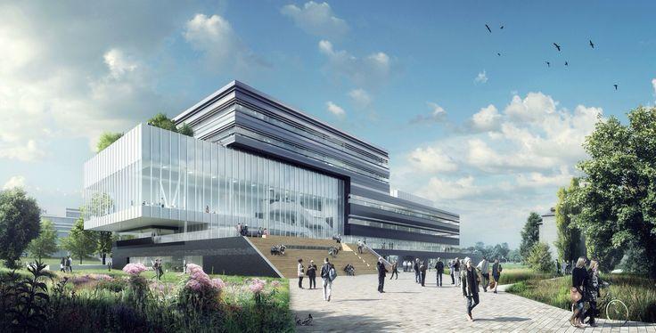 Artist Impression Center Court, Ector Hoogstad Architecten, 2013