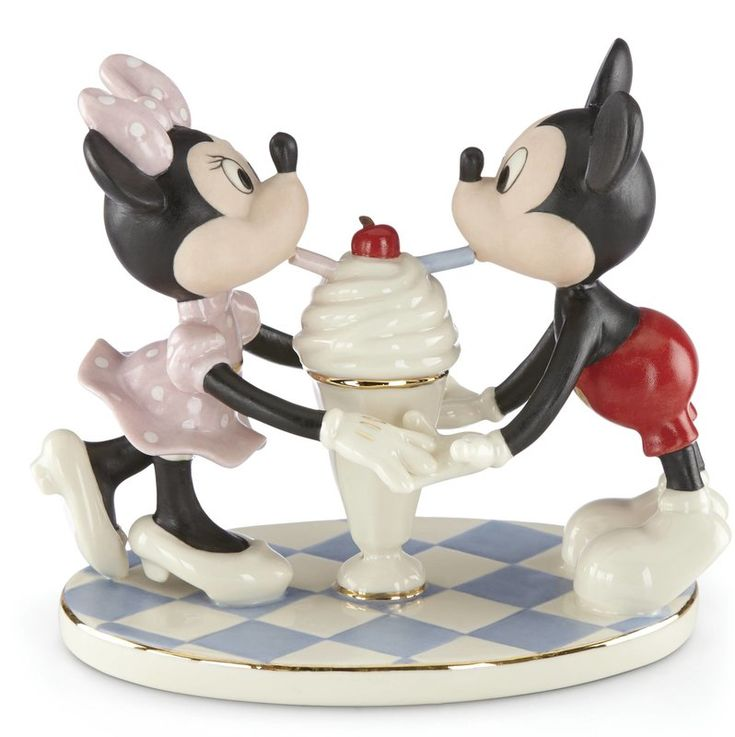 Disney's Soda Shoppe Sweethearts Figurine  #disney #valentines #affiliate